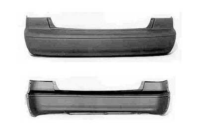 Pre Painted Toyota Camry Rear Bumper Painted to Match Vehicle - 1999 Toyota Camry Bumper