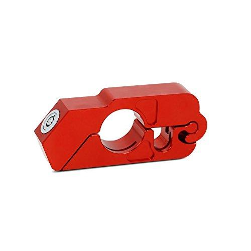 Serrure levier de frein Yamaha VMAX 1700 rouge