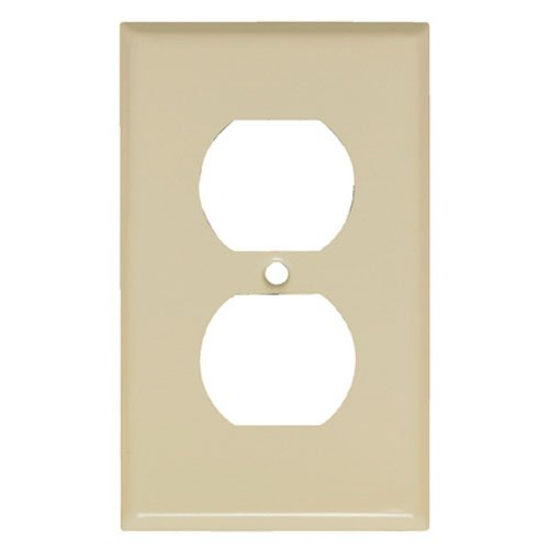 Mulberry Metals 84101 IVY 1G DPLX Wall Plate - Quantity 1