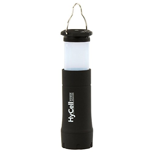 Flashlight Led Watt Lantern 1 (HyCell 2in1 Outdoor LED Camping Lantern with focusable flashlight Camping light Camping lamp Tent light 1W LED (incl. 3x AAA Batteries))