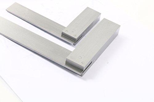 YaeTek Machinist Squares 90 Degree Right Angle Engineer's Set- 2'' 4'' 6'' DIN STANDARD 875, Machinist Square Set, 3-PIECE by YaeTek (Image #6)