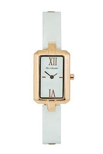 Elico Assoulini CL76101 Sottile Women's Luxury Wrist Watch - Japanese Quartz Movement - 36mm Case Size, (Famous Look Automatic Watch)