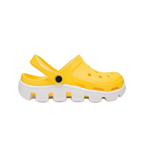 yellow Beach Sandals Clogs Adults Garden EVA and Shower white Slippers fereshte Unisex Women's Men's Mules xBIYwX7Xq