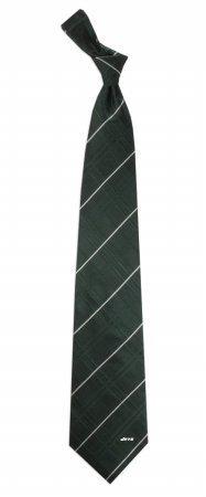 NFL New York Jets Men's Woven Silk Oxford Necktie, One Size, Multicolor