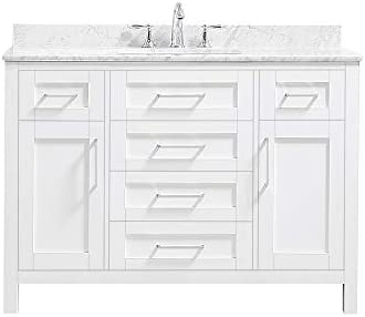 Ove Decors Maya 48 Set Bathroom Vanity Freestanding Cabinet