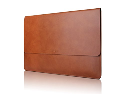 Lenovo 14 Inch Laptop Sleeve - Yoga 920 & 910 14'' Leather Sleeve (GX40M66708) by Lenovo
