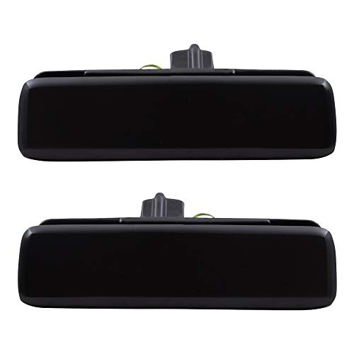 Driver and Passenger Front Outside Outer Door Handles Replacement for 93-05 Chevrolet Astro GMC Safari Van 15719665 15719666