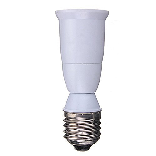 YiLighting - (E26/E27 To E26/E27 Extender) - E26/E27 Medium Socket Edison Screw Lamp Bulb Base Extender Extension Adapter
