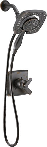 Delta T17264-RB-I Ashlyn Monitor 17 Series Shower Trim with In2ition Two-in-One Handshower Showerhead, Venetian Bronze by DELTA FAUCET
