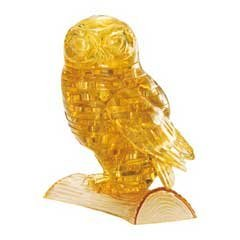 3D Crystal Puzzle  Owl  42 Pcs by Bepuzzled