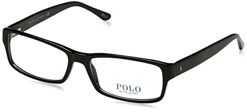 Polo Men's PH2065 Eyeglasses Shiny Black ()