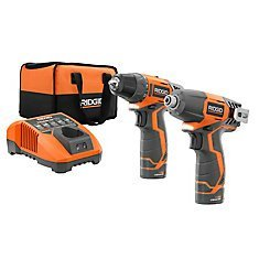 (Ridgid 12-volt Hyper Lithium-ion Drill/driver and Impact Driver Combo Kit (Renewed))