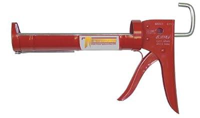 Newborn 189D Drip-Free Super Ratchet Rod Cradle Caulking Gun, 1/10 Gallon Cartridge, 6:1 Thrust Ratio