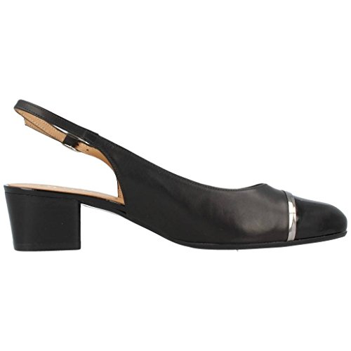Heeled 1144870 Black Model Platino Colour Shoes Brand Black Heeled Shoes 4wWq68dn