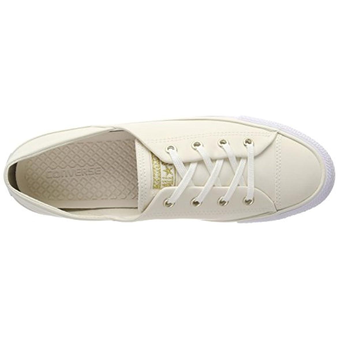 Converse Ctas Coral Ox Egret white Slip-on Sneaker Donna