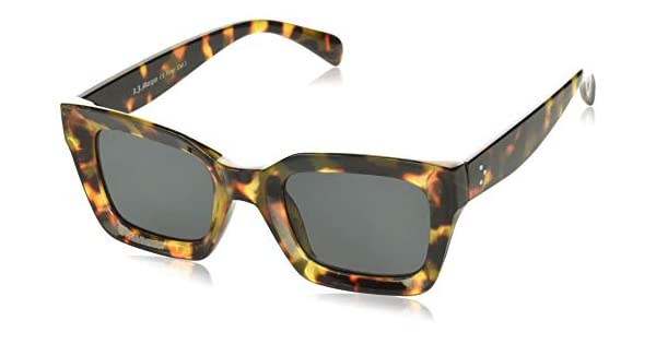 Amazon.com: A.J. Morgan - Gafas de sol redondas con diseño ...