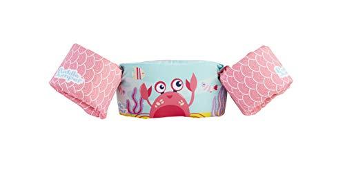 Stearns Puddle Jumper Kids Life Jacket | Life Vest for Children, Pink Crab, 30-50 Pounds