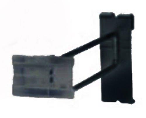 Set of 100 New or Retail Black Scanning Peg Hooks 12 inch