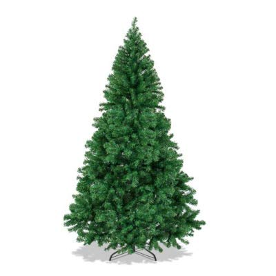 The Finest 6' Feet Super Premium Artificial Christmas Pine Tree with Solid Metal Legs ,1000 Tips, Six Foot Tall