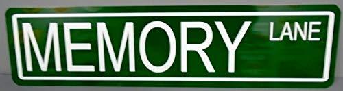 Motown Automotive Design Metal Street Sign Memory Lane 6 x 24 HOT Rod Custom Street Rod Gasser Lowrider Rat - Hot Rod Lane