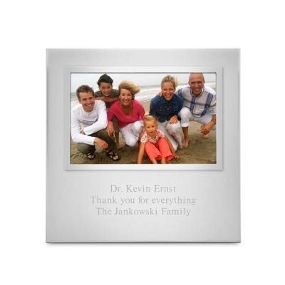 (Things Remembered Personalized Silver Uptown 4 x 6 Landscape Frame with Engraving Included)