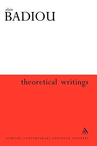 [BEST] Theoretical Writings (Athlone Contemporary European Thinkers) [P.P.T]