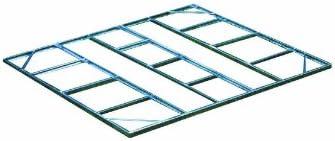 Arrow FDN1014 Storage Shed Base Kit for 10'x12', 10'x13' & 10'x14' Arrow sheds