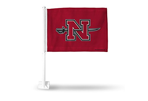 NCAA Nicholls State Colonels Car Flag, Red, with White Pole Pro-Motion Distributing - Direct FG170801
