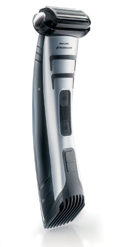 Philips Norelco Bodygroomer BG2040/49 - skin friendly, showerproof, body trimmer and shaver (Best Pubic Hair Trimmer)