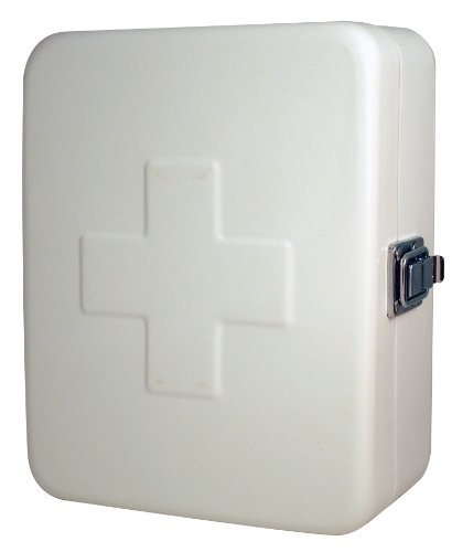 (Kikkerland Empty First Aid Box, Small, 6 by 7.5-inches,)
