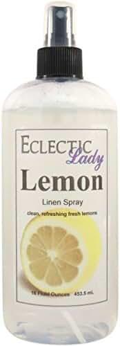 Lemon Linen Spray, 16 ounces