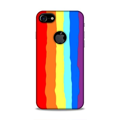 LaidBack Polycarbonate Back Cover for Apple iphone 7  Multicolour