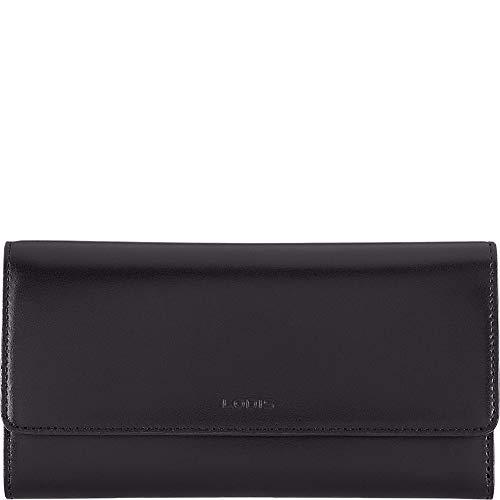 Lodis Audrey RFID Luna Clutch Wallet, Black Audrey Clutch In Black