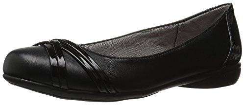 LifeStride Women's Aliza Flat,black,9.5 M US (Flat Shoes Dress Women)