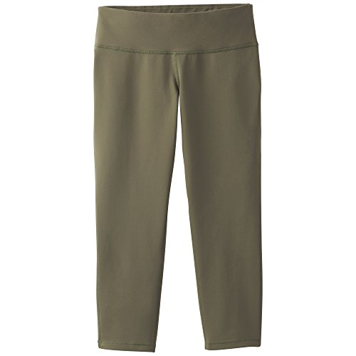 prAna Ashley Capri Leggings, Cargo Green, Small (Capri Cargo Leggings)