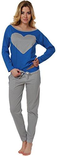 Italian Fashion IF Pijamas para Mujer Elisabet 0223 Zafiro