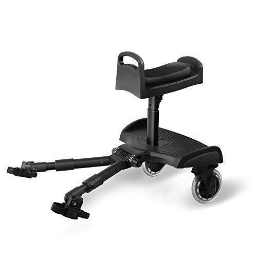 Glider Board, Beberoad 2 in 1 Baby Stroller Kid Board with Dismountable Seat