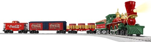 Lionel General Steam Locomotive (Lionel Coca-Cola 125th Anniversary Vintage Steam O-Gauge Train Set)