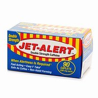 Jet d'alerte doubles Caplets Force Vigilance aide, 200mg-90 ct