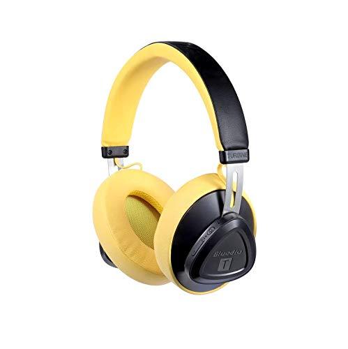 37f02fef60e Bluedio TM Bluetooth Headphones Over Ear, Voice Control Hi-Fi Stereo  Wireless Headset with