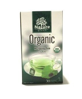 Nature green organic mulberry tea 30 sachets Net wt. 30 - Edinburgh Outlets