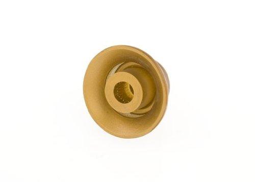 Botones de sombrero de copa Gibson - Paquete de 4, ámbar