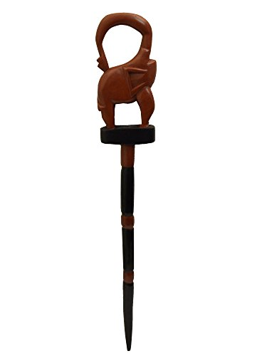 Ashanti Elephant Walking Stick - Handmade in Ghana