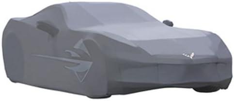 コルベットアウトドアAll Weather車カバー、Stingrayロゴ、グレー23142885