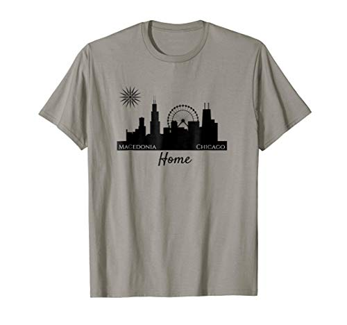 Macedonian T-shirt- Home - Chicago & Macedonia
