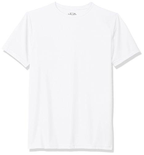Intensity Youth Performance Shorts Sleeve Shirt, White, X-Large
