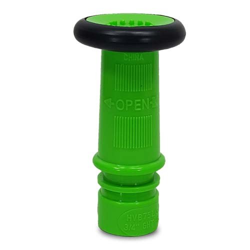 Plastic Lime Green Garden Hose Nozzle (GHT)