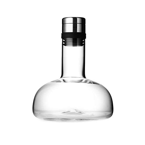 Guotail Decanter Import Process Lead-Free Crystal with Lid Red Wine Grape Liqueur Seal Fast Decanter Flagon Wine Separator Wine Set