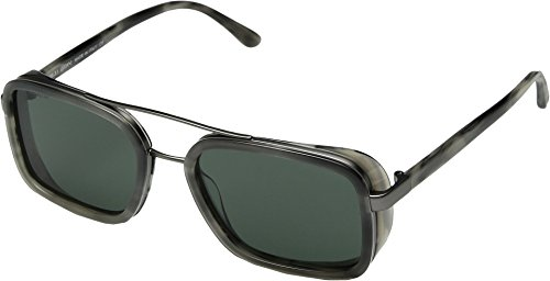 Giorgio Armani Mens Sunglasses Grey/Green Metal - Non-Polarized - - Armani Giorgio Sunglasses