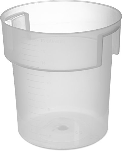 Carlisle 180530 Bain Marie Round Storage Container Only, 18